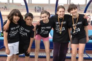Imagen de archivo de una Olimpiada Escolar en Rivas