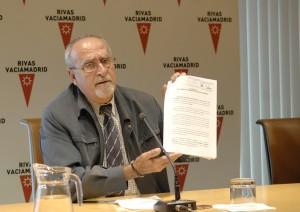 José Masa (en una foto de archivo) comparecerá hoy ante la comisión de investigación (Foto Ayto Rivas)