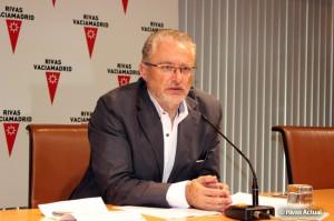 Fausto Fernández, en un acto municipal (Foto: Rivas Actual)