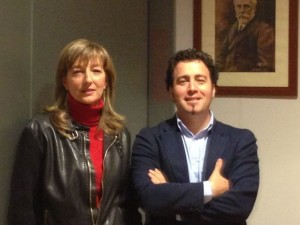 Carmen Pérez y Pedro del Cura, en una fotografía de archivo