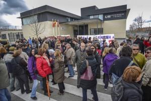 Concentración, el pasado marzo, exigiendo la apertura del Centro Primero de Mayo