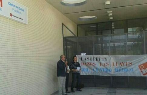 Del Cura y Masa en la Asamblea Ciudadana (Foto cortesía de IU Rivas)
