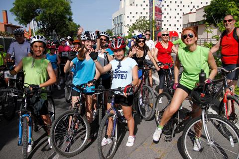 Imagen del Día de la Bici 2012 (Foto: Enrique Ayala)