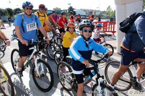 Participantes en el Día de la Bici (Foto: Enrique Ayala)
