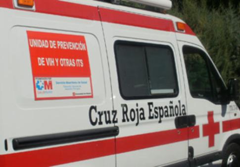 VIH-unidad-movil Cruz Roja