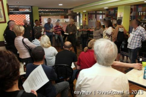 Una imagen de la asamblea celebrada ayer tarde (Foto: Enrique Ayala)