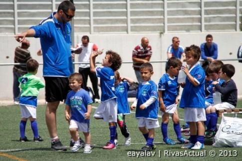 Algunos de los chavales participantes en el torneo (Foto: Enrique Ayala)