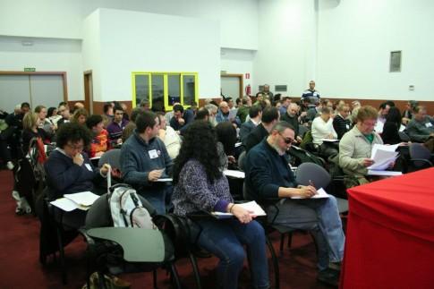 Foto de archivo del salón de actos de la Casa de Asociaciones (Foto: Enrique Ayala)