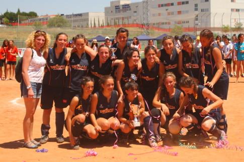 El equipo del Dridma Junior tras lograr el subcampeonato (Foto cortesía del club)