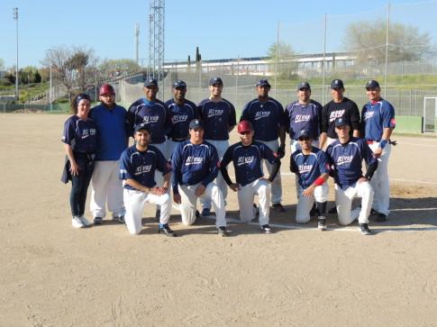 Equipo senior del CBS Rivas, ganador de la Liga Nacional de Beisbol de Primera División (Foto Cortesía del club)
