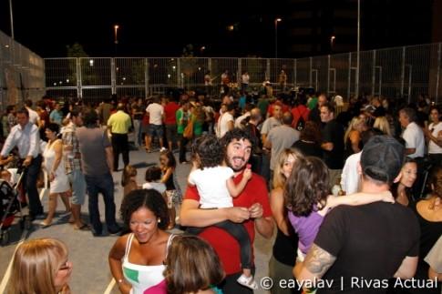 Imagen de la I Fiesta del barrio de La Luna, el pasado año (Foto: Enrique Ayala)
