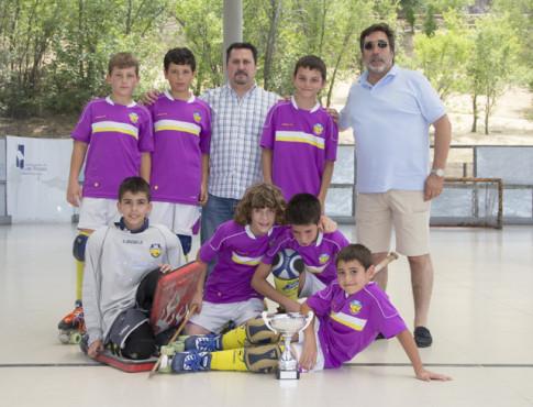 El equipo benjamín del Rivas Las Lagunas (Foto cortesía del club)