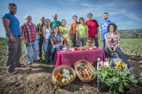 Horticultores del Soto del Grillo (Foto Ayto. Rivas)