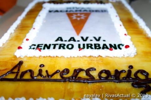 La Asociación de Vecinos del Centro Urbano fue la encargada, un año más, de organizar el aniversario (Foto: Enrique Ayala)