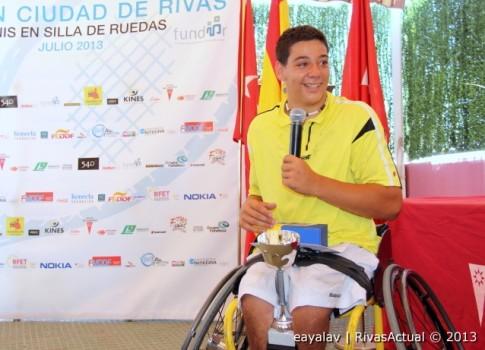 Roberto Chamizo, campeón del torneo (Foto: Enrique Ayala)