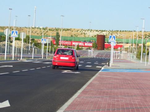 El tramo recién abierto, tomado desde la avenida de Pablo Iglesias (Foto: Marcos Flórez)