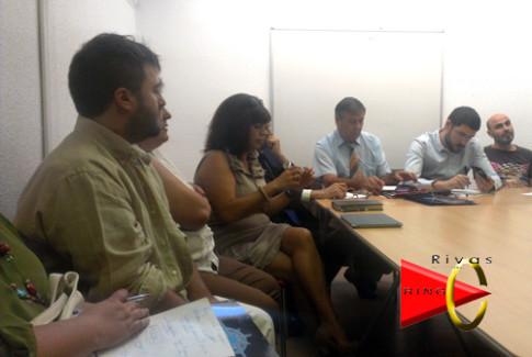 Un momento de la reunión (Foto cortesía de Rivas Networking)