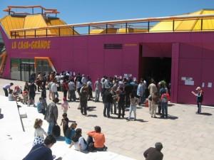 La Casa + Grande albergará el I Foro de Circo Social (Foto archivo Rivas Actual)