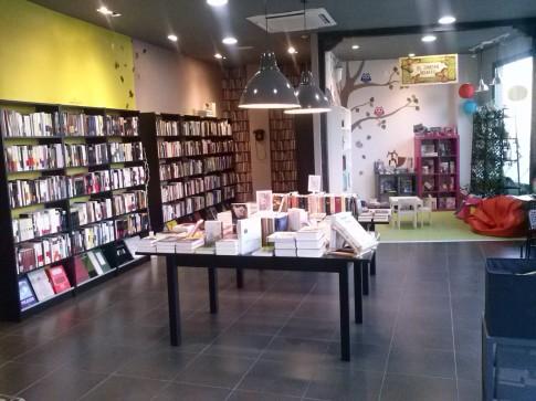 Una imagen del interior de la librería.