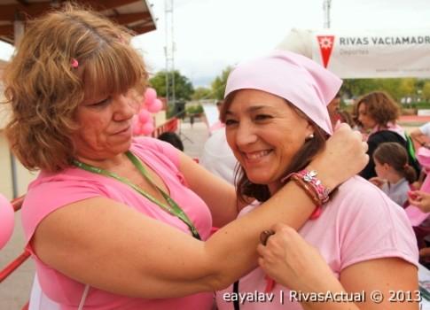 Dos de las participantes en la carrera (Foto: Enrique Ayala)