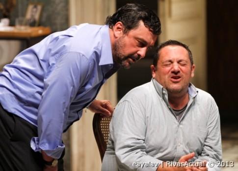Paco Tous y Pepón Nieto durante la representación (Foto: Enrique Ayala)