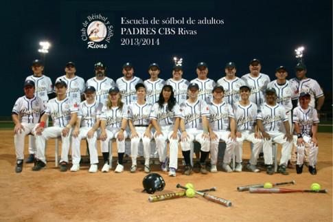 Poster editado por CBS Rivas con los componentes de su equipo de la Escuela de Padres (Foto cortesía del club)