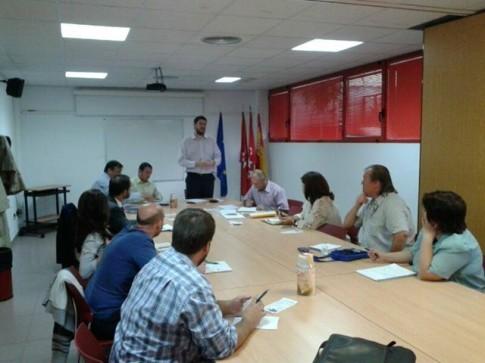 Un momento de la sesión celebrada el pasado 4 de octubre (Foto cortesía de Rivas Networking)