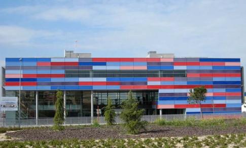 Edificio Atrio, en Rivas, donde tiene su sede la EMV local (Foto: archivo Rivas Actual)