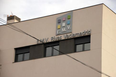Uno de los edificios construidos por la EMV Rivas (Foto Rivas Actual)