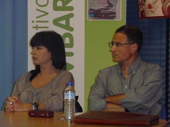 Elena Muñoz y José Guadalajara