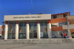 El centro cultural García Lorca alberga la mayor biblioteca de Rivas
