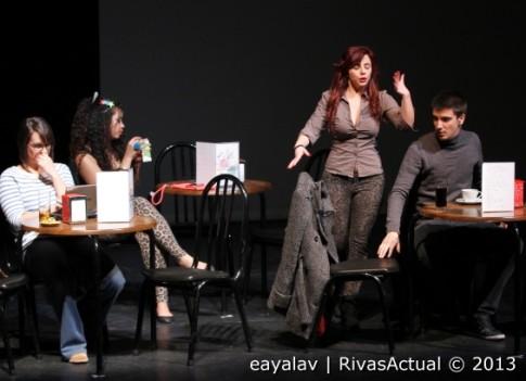Un momento de la representación (Foto: Enrique Ayala)