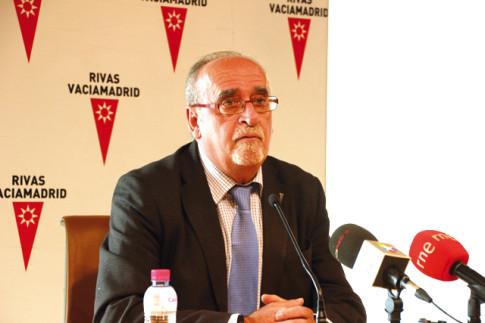 José Masa durante la comparecencia (Foto: Rivas Actual)