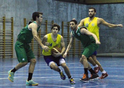 Uno de los partidos de Covibar EBA jugado esta temporada (Foto Rivas Actual)