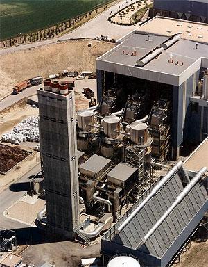 Una imagen aérea de la incineradora de Valdemingómez (Foto tomada de la web de Frente Cívico 'Somos Mayoría')