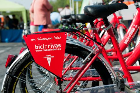 Aparcamiento del sistema 'Bicinrivas', uno de los elementos que han contribuido a que se nomine a Rivas como finalista del premio (Foto: Mihai Petre)