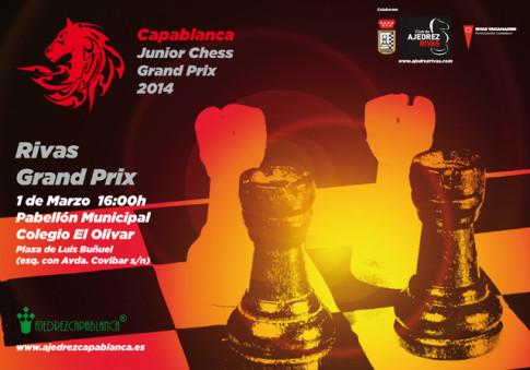 Cartel anunciador del torneo de Rivas
