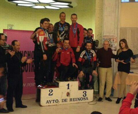Podio del Campeonato de España (Foto cortesía de Diablillos de Rivas)
