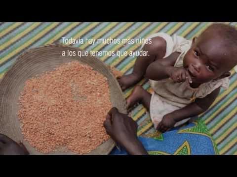 Fotograma de una video-campaña de UNICEF contra el hambre en el norte de Malí (UNICEF)
