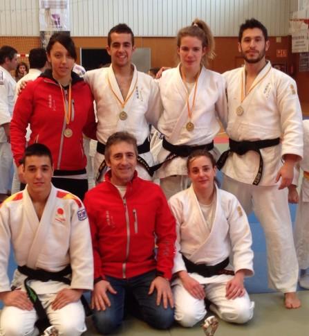Los judokas del Judo Club  Rivas en el Trofeo (Foto cortesía del club)