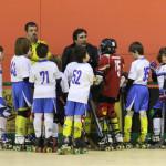 El equipo de cantera del Rivas Las Lagunas, durante su participación en los amistosos de Lleida (Foto Vanessa Serrano y Luis Velasco)
