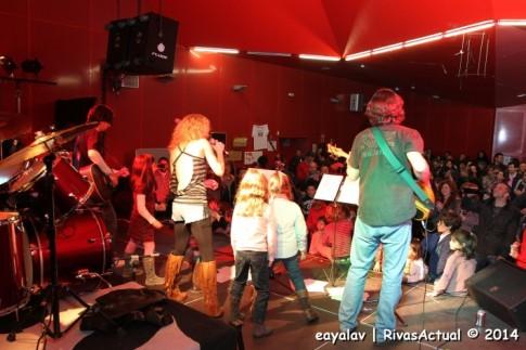 Un momento del concierto (Foto: Enrique Ayala)