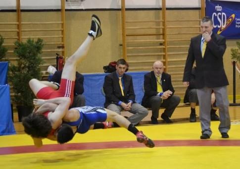 Un momento de uno de los combates (Foto cortesía del club)