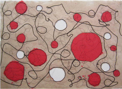 'Otros mundos VII', de Flor de Miguel, una de las obras que se expondrán