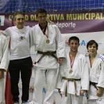 Mohame Jazouli, en el podio (Foto cortesía del club)