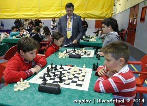 Una de las partidas del torneo (Foto: Enrique Ayala)