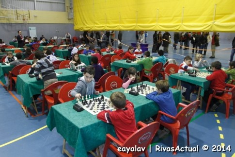Aspecto del pabellón durante el torneo (Foto: Enrique Ayala)