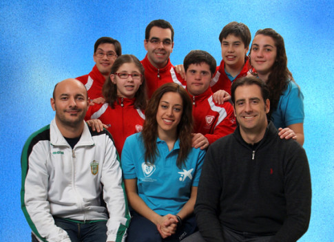 Miembros de FUNDAR y del CD Covibar que participan en el proyecto (Foto cortesía de FUNDAR)