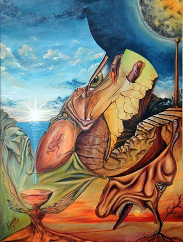 'Altibajos', una de las obras que el pintor cede para la exposición de Nueva York
