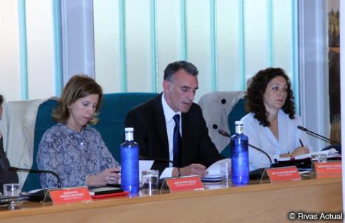 José Antonio Riber, durante la lectura de las conclusiones (Foto Rivas Actual)